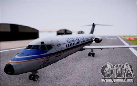 McDonnel Douglas DC-9-10 para la visión correcta GTA San Andreas