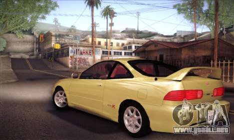 Honda Integra Drift para GTA San Andreas left