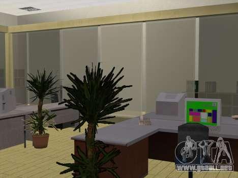Nuevas texturas Interior Ayuntamiento para GTA San Andreas sucesivamente de pantalla