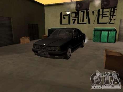 BMW 520i e34 para la visión correcta GTA San Andreas