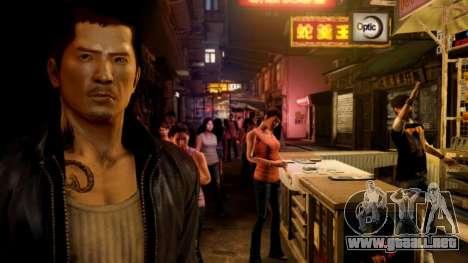 Arranque pantalla Sleeping Dogs para GTA 4 octavo de pantalla