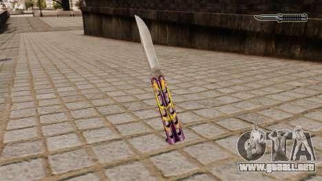 La hoja del dragón para GTA 4