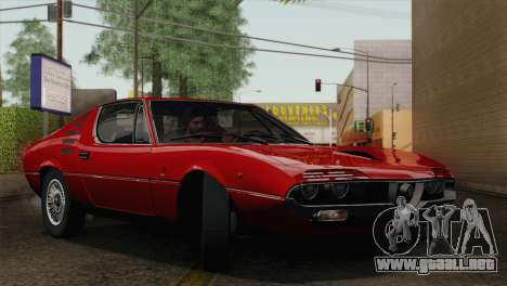 Alfa Romeo Montreal (105) 1970 para la vista superior GTA San Andreas
