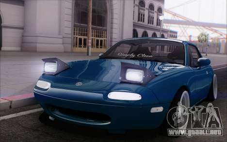 Mazda Miata para visión interna GTA San Andreas