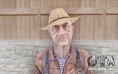 Granjero para GTA San Andreas segunda pantalla