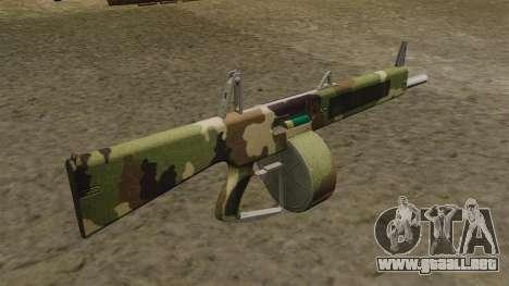 La escopeta AA-12 Camo v2 para GTA 4 segundos de pantalla