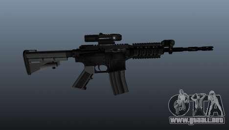 Carabina M4 de Spike para GTA 4 tercera pantalla
