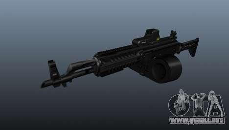 Artillero táctico AK-47 para GTA 4