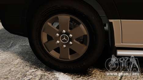 Mercedes-Benz Sprinter 2500 2011 v1.4 para GTA 4 vista interior