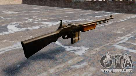 Fusil automático Browning Bar para GTA 4 segundos de pantalla