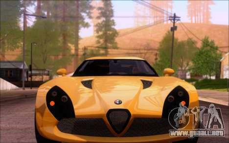 Alfa Romeo TZ3 2011 para la visión correcta GTA San Andreas