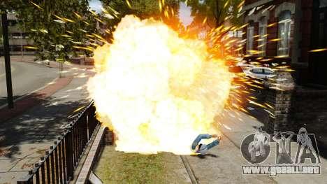 Balas explosivas para GTA 4 tercera pantalla