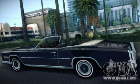 Cadillac Eldorado 1978 Convertible para la visión correcta GTA San Andreas