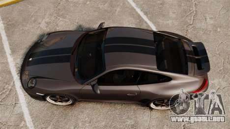 Porsche 911 Sport Classic 2010 para GTA 4 visión correcta