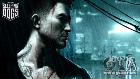 Arranque pantalla Sleeping Dogs para GTA 4 segundos de pantalla