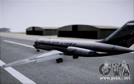 McDonnel Douglas DC-9-10 para GTA San Andreas interior