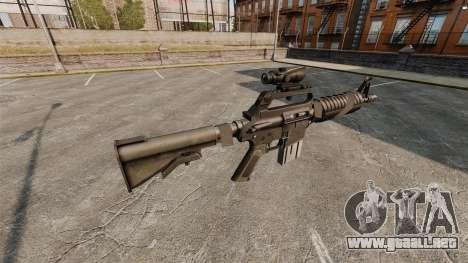 Rifle de asalto-Colt AR-15 para GTA 4 segundos de pantalla