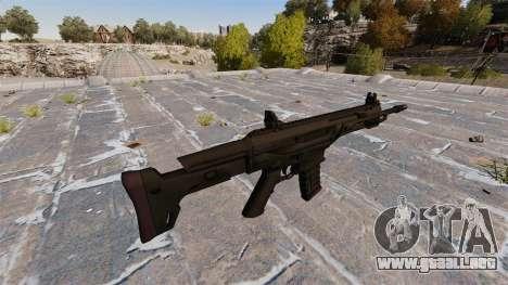 Fusil automático Remington ACR para GTA 4 segundos de pantalla