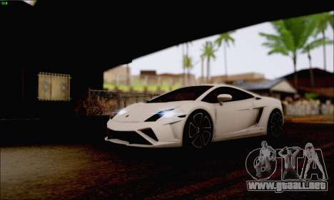 Lamborghini Gallardo LP560-4 2013 para GTA San Andreas vista hacia atrás