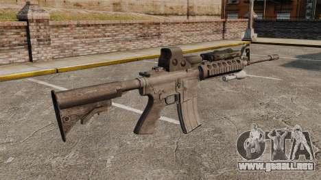 M4 carbine SOPMOD v3 para GTA 4 segundos de pantalla