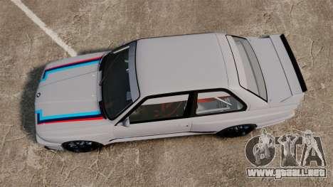 BMW M3 1990 Race version para GTA 4 visión correcta