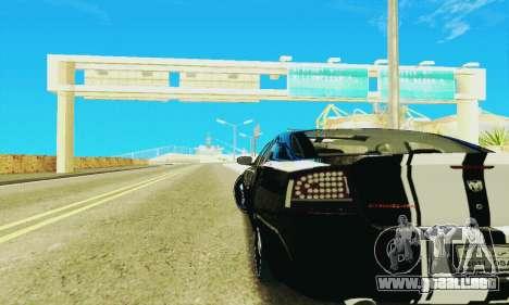 Dodge Charger DUB para visión interna GTA San Andreas