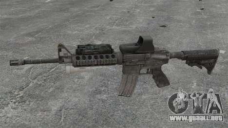 M4 carbine SOPMOD v3 para GTA 4 tercera pantalla