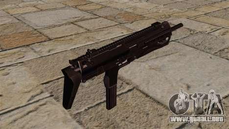 Ametralladora HK MP7 para GTA 4 segundos de pantalla