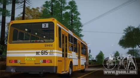 LIAZ 5256.00 para las ruedas de GTA San Andreas