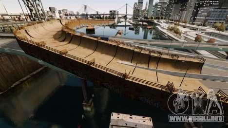 Biggest Track para GTA 4 adelante de pantalla