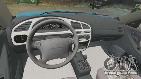 Daewoo Lanos PL 2001 para GTA 4 vista lateral