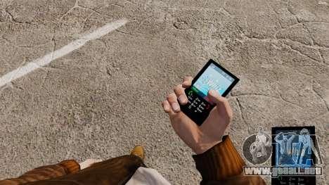 El tema para el teléfono azul Whiz para GTA 4
