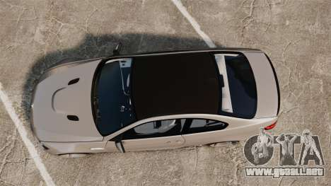 BMW M3 E92 2008 para GTA 4 visión correcta