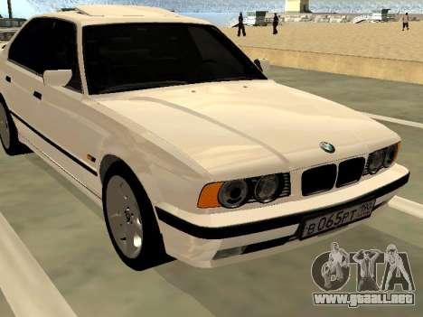BMW 525 E34 para la visión correcta GTA San Andreas