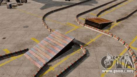 Airport RallyCross Track para GTA 4 quinta pantalla
