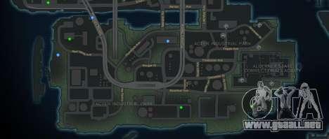 CG4 Radar Map v1.1 para GTA 4 segundos de pantalla