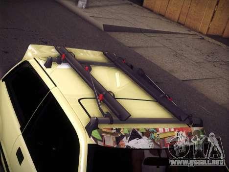 Honda Civic Si 1986 para vista inferior GTA San Andreas