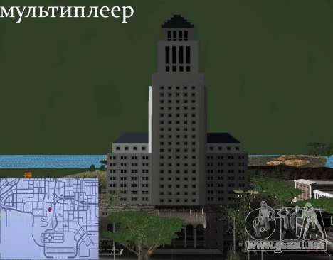 Nuevas texturas Interior Ayuntamiento para GTA San Andreas twelth pantalla