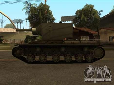 KV-2 para la visión correcta GTA San Andreas