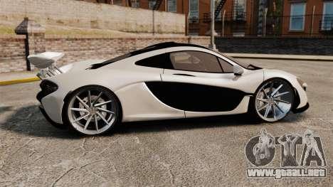 McLaren P1 2014 para GTA 4 left