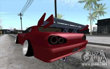 Tuned Elegy para la visión correcta GTA San Andreas