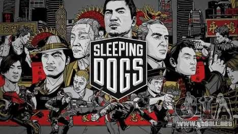 Arranque pantalla Sleeping Dogs para GTA 4