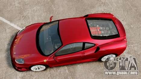 Ferrari F430 Scuderia 2007 para GTA 4 visión correcta
