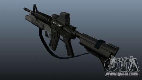 Automático carabina M4A1 v3 para GTA 4 segundos de pantalla