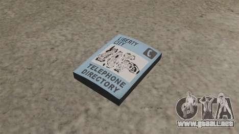 Bomba de libro para GTA 4
