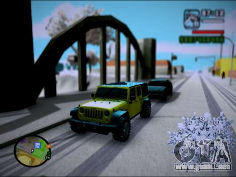 Jeep Wrangler Unlimited 2007 para GTA San Andreas