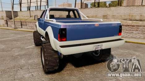 GTA V Vapid Sandking SWB 4500 para GTA 4 Vista posterior izquierda