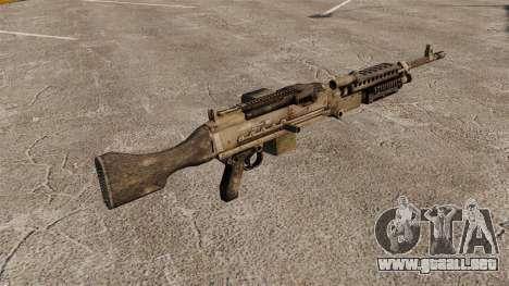Ametralladora de propósito general M240B para GTA 4 segundos de pantalla