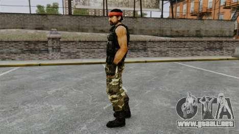 Terrorista guerrillera de América del sur para GTA 4 segundos de pantalla