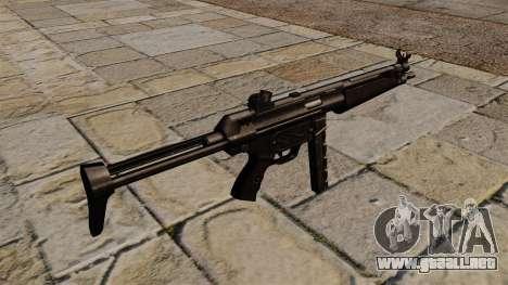Subfusil MP5 negro acosador para GTA 4 segundos de pantalla